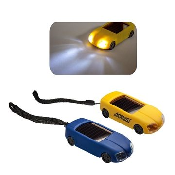 Promotional Solar Car Light Keychain