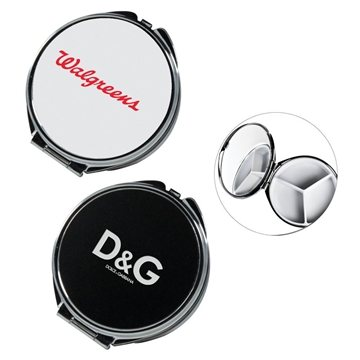 Promotional Round Metal Pill Box With Mirror