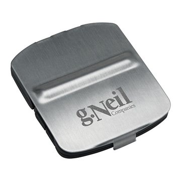Stainless Steel Cover Alarm Clock