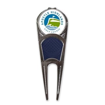 Promotional Divot Mark Repair Tool with Removable Ball Marker