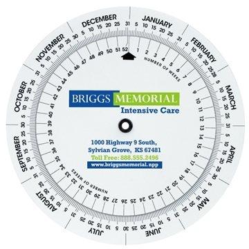 Promotional Weekly Swivel Calculator - Triumph(R) Calendars