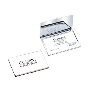 Goodfaire Business Cardholder Silver