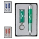Promotional Rivet LED Keylight Quasar Pen Gift Set