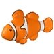 Promotional Clown Fish - Stress Relievers