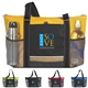 Promotional Nylon Multi Color Icy Bright Cooler Tote Bag 24 Cans