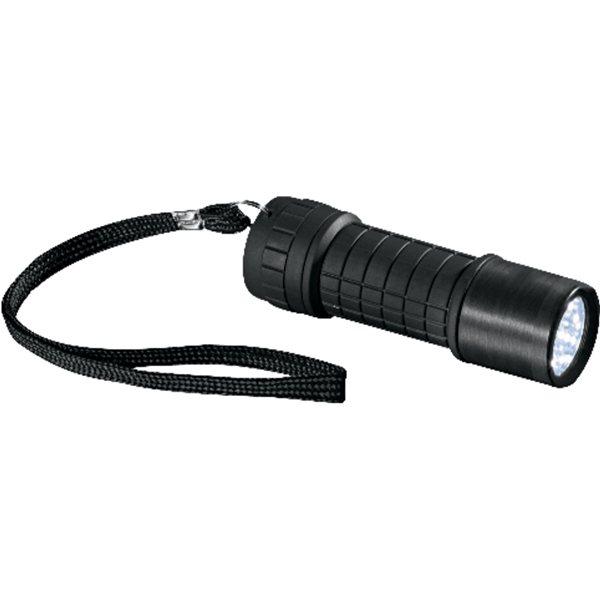 Promotional Garrity(R) 9 L.E.D. Flashlight - K35