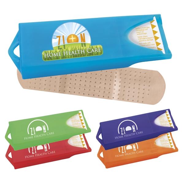 Promotional Original Colored Dispenser W Standard Bandages