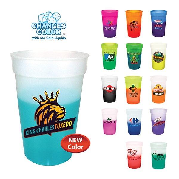 Promotional 17 oz. Mood Stadium Cup (1 Side), Full Color Digital