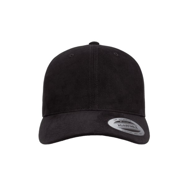 Promotional Yupoong Brushed Cotton Twill Mid - Profile Cap