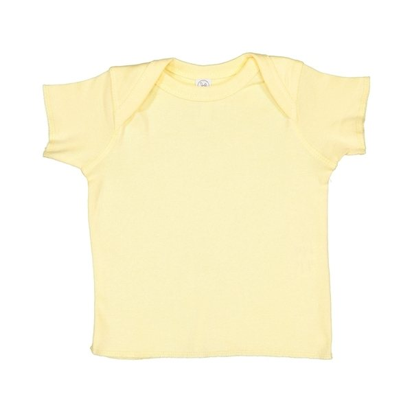 Promotional Rabbit Skins 5 oz Baby Rib Lap Shoulder T - Shirt