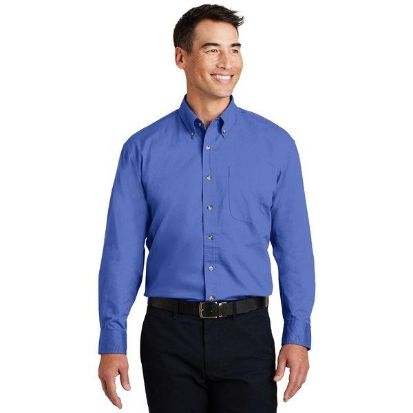 Promotional Port Authority Long Sleeve Twill Shirt