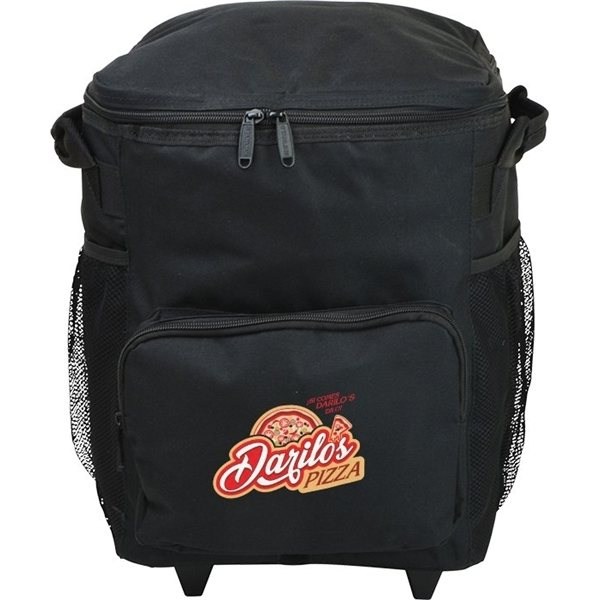 Promotional 48 Can Rolling Cooler Bag