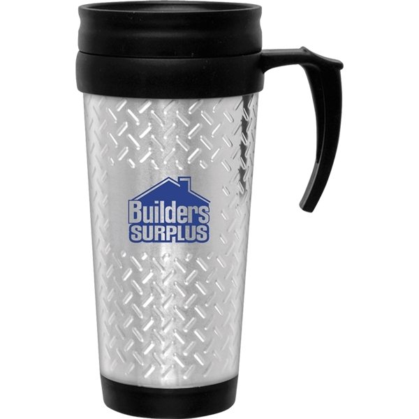 Promotional 14 oz Tool Box Travel Mug