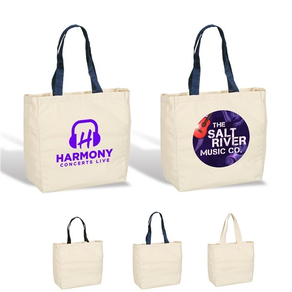 Promotional Give - Away Tote 6 oz. Cotton