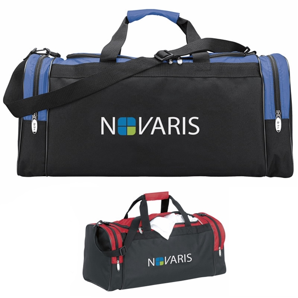 Promotional Color Accent Club Duffel