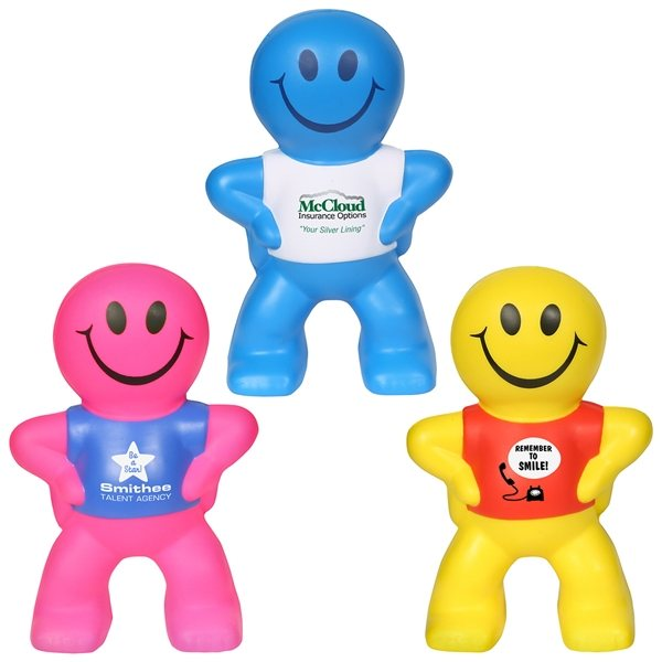 Promotional Captain Smiley - Stress Relievers