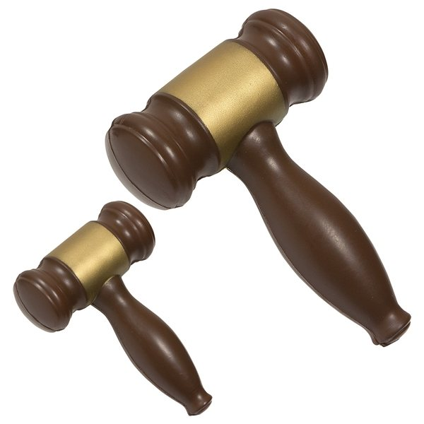 Promotional Gavel - Stress Relievers