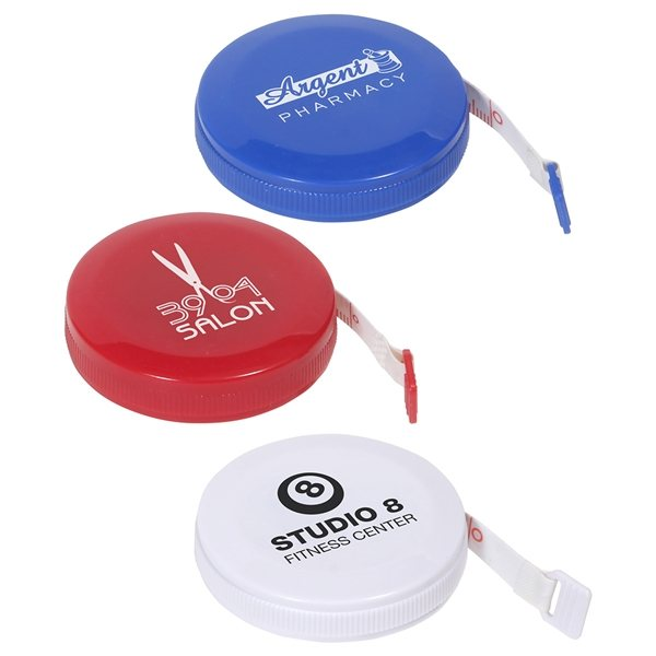 Promotional 5 Foot Round Tape Measure