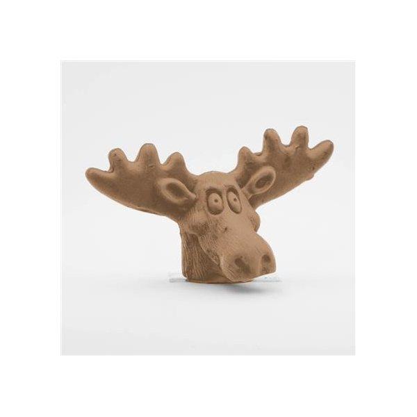 Promotional Pencil Top Stock Eraser - Moose