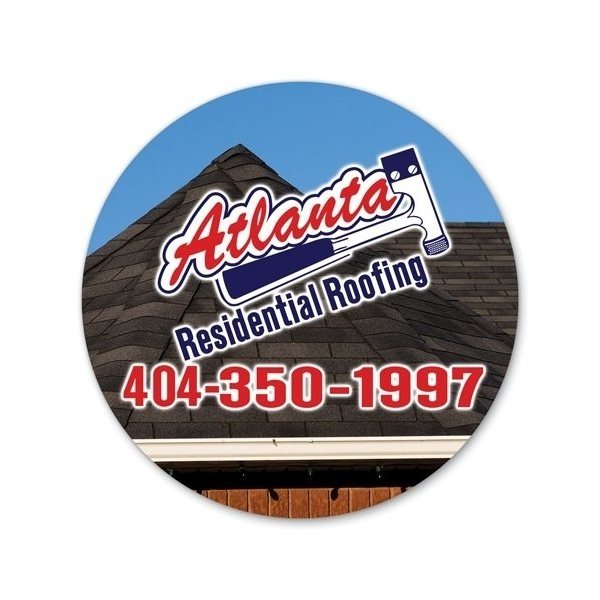 Promotional Large Car Magnet - 11 Circle
