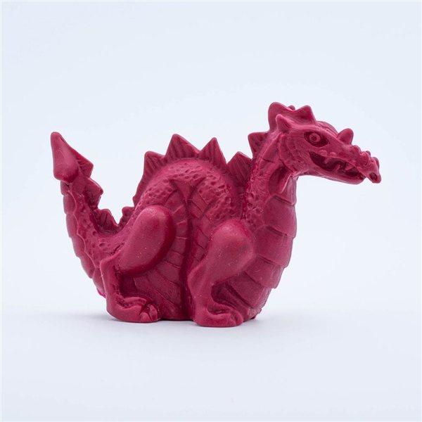 Promotional Pencil Top Stock Eraser - Standing Dragon
