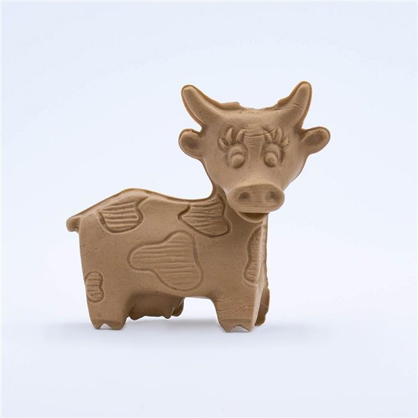 Promotional Figurine Stock Eraser - Moo Cow
