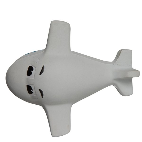 Promotional Mini Airplane with Smile Squeezies Stress Reliever