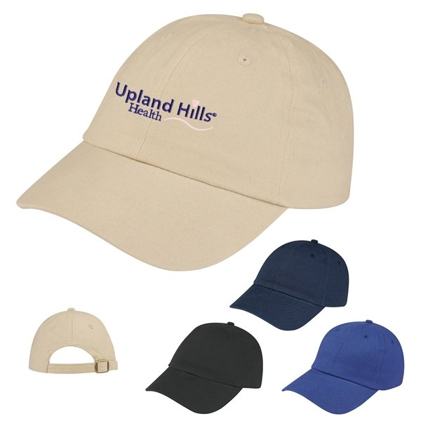Promotional Brushed Cotton Twill Cap