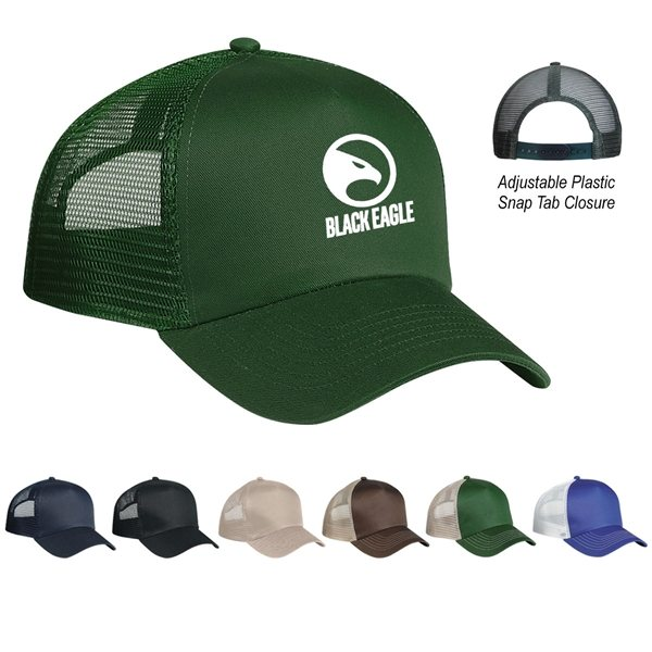 Promotional 5 Panel Mesh Back Price Buster Cap