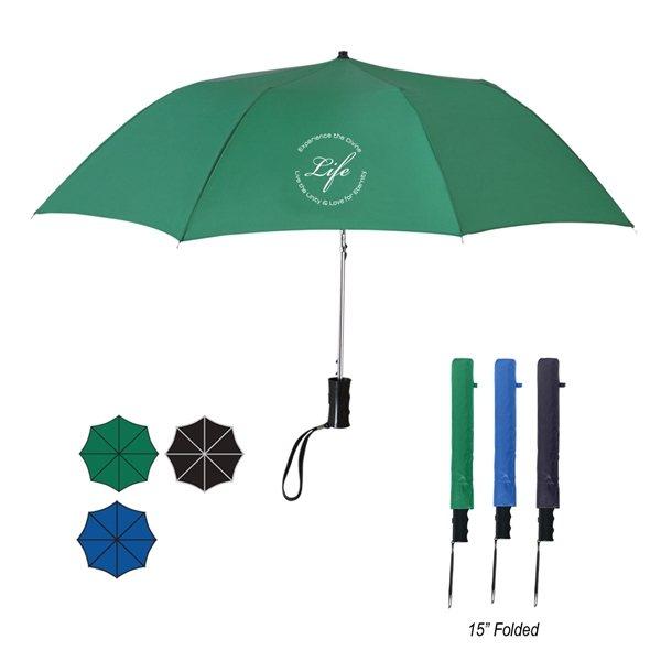 Promotional 36 Arc Telescopic Folding Automatic Umbrella