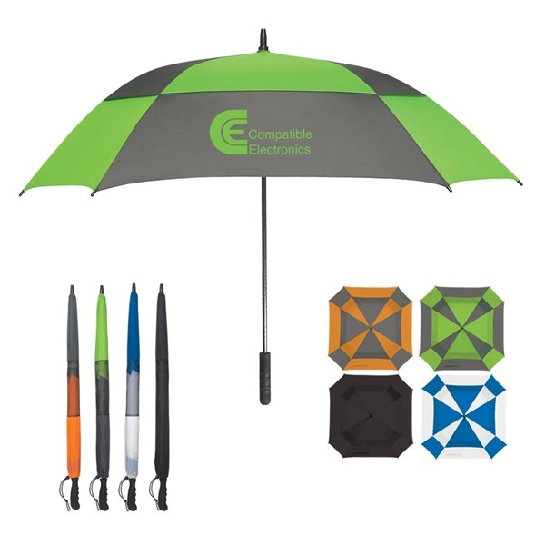 Promotional 60 Arc Square Umbrella