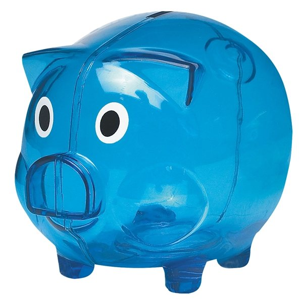 Plastic piggy bank advertising specialties desk accessories - Resin piggy banks ...
