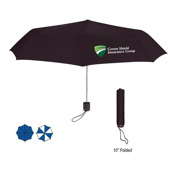 Promotional 43 Arc Super - Mini Telescopic Folding Umbrella