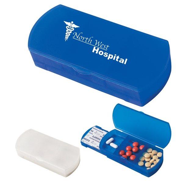 Promotional Pill Box / Bandage Dispenser