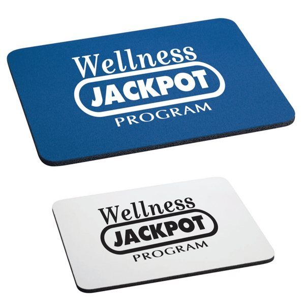 Promotional 1/4 Rectangular Rubber Mouse Pad