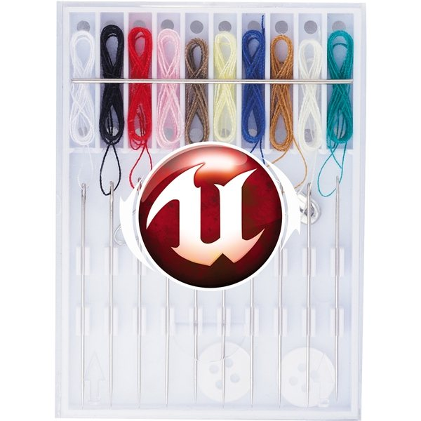 Promotional Pocket Pre - Threaded Sewing Kit