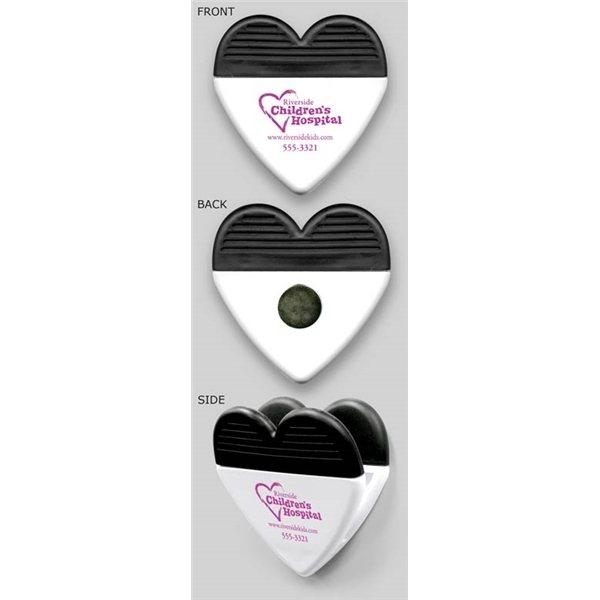 Promotional Heart (white) - Shape Clips