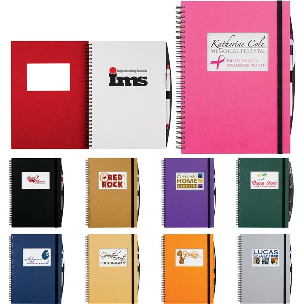 Promotional Frame Rectangle Large Hardcover JournalBook