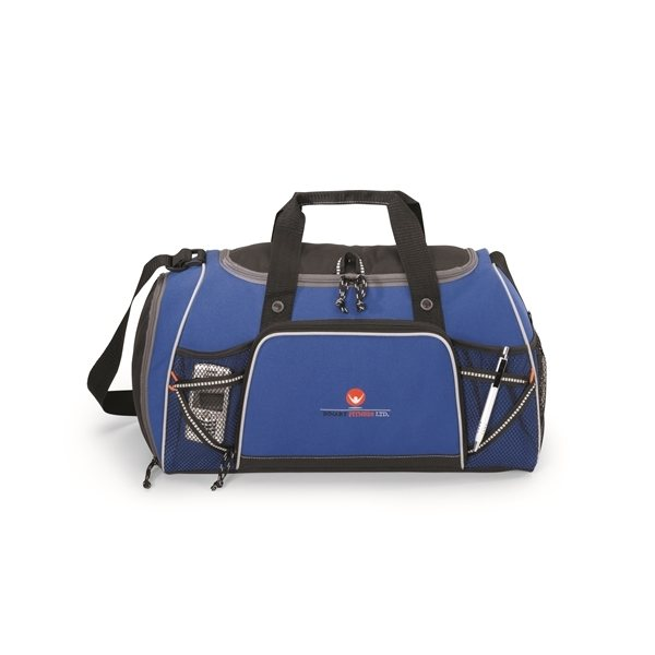 Promotional Verve Multifunction Polyester Sport Bag Royal Blue
