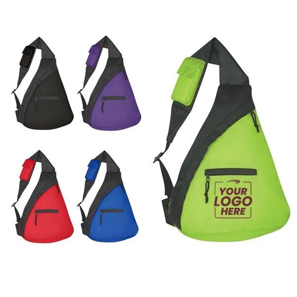 Promotional Budget Sling Backpack