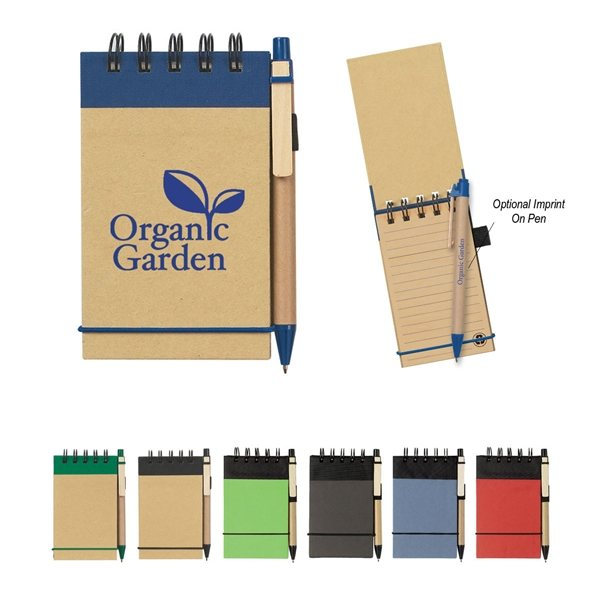 Promotional Eco - Inspired Spiral Jotter Pen