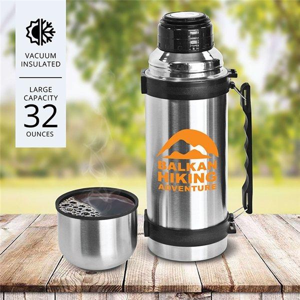 Promotional Dixon - 32 oz Stainless Steel Vacuum Bottle
