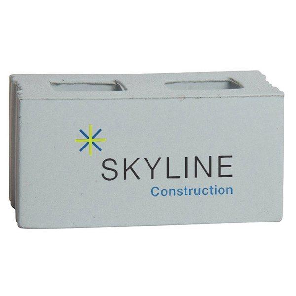 Promotional Concrete Block Squeezies - Stress reliever