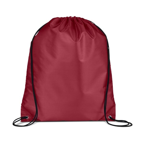 Custom Nylon Cinch Up Backpack Promotional Drawstring Bags