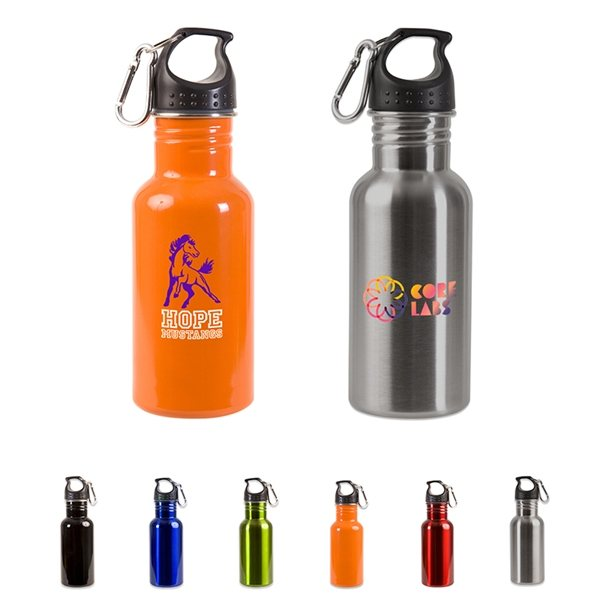 Promotional 17 oz Stainless Steel Adventure Bottle
