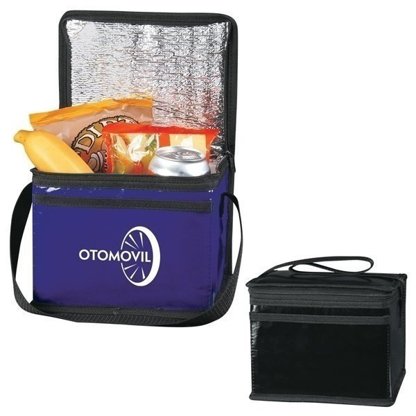 Promotional Laminated Non - Woven Six Pack Kooler Bag