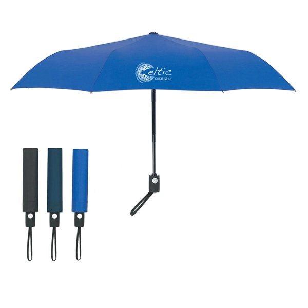 Promotional 43 Arc Telescopic Folding Automatic Open And Close Umbrella