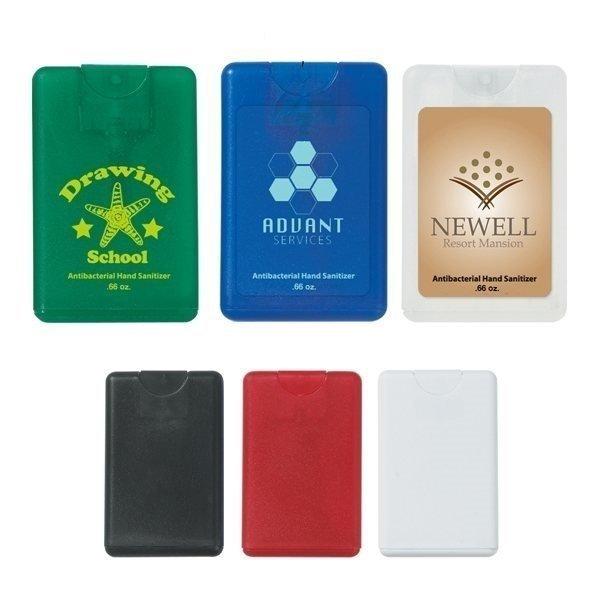 Promotional 0.66 oz Card Shape Hand Sanitizer