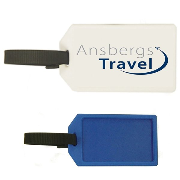 Promotional Plastic Luggage Tag