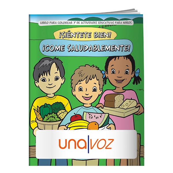 Promotional Coloring Book Eat Healthy (Spanish)